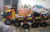 Knex 10 tracteurs sur chenilles