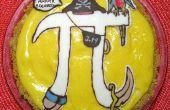 Taux (pi) banane Creme tarte