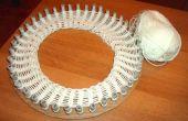 Carton Knitting Loom