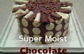 Un gâteau au chocolat de Super