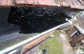 Comment réparer une fuite union de gouttière mixte (et tunnel de poly)