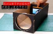 Construire un projecteur de Smartphone avec une boîte à chaussures