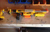 Personnalisé Recon CS-6 NERF pistolet Blaster