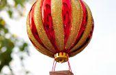 Comment faire un ornement de ballon d'Air chaud