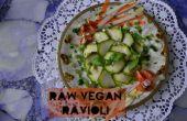 RAW-ioli / raw raviolis végétaliens