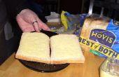 En vrac, faire des sandwichs pour parties fait plus vite