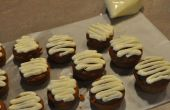 Chocolat blanc givré Pumpkin Cupcakes