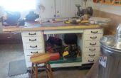 Comment construire une table de travail très complexe en un week-end !
