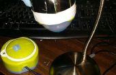 DIY complètement articulée Desk Microscope video