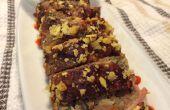 Enveloppé de bacon pain de viande Maki Roll