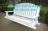 Porche en bois bricolage Swing