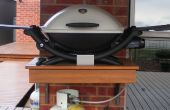 Tirez le plateau pour barbecue