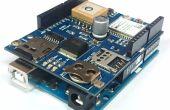GPS Sistema con Arduino + M2M bouclier