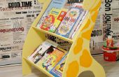 Étagère de livres pour enfants
