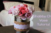 Shabby Chic Vase tutoriel