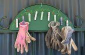 Rack de gant de jardin
