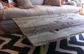 Comment construire une Table basse en bois récupéré