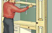 Construire un placard de bureaux