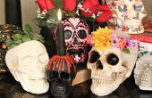 Cinq Halloween Skull DIYs