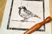 Comment sculpter une image sur une gravure sur bois