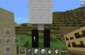 Facile à Minecraft Pe graviers