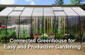 Une serre connectée pour le jardinage facile et Productive