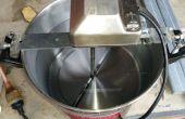 Auto Pot agitateur de barbecue tournebroche pour agiter la purée de maïs