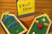 Le Putter de crayon : Sac à dos de golf trousseau