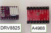 Installation et configuration des pilotes de Stepper DRV8825