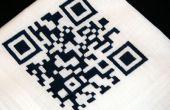 Broderie CNC: QR Code