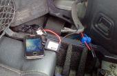 Traqueur de GPS de voiture - bon marché et secrètes