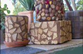 Pouvez Art : Pebble bidons et autres délices