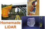 LiDAR simple utilisant le télémètre laser Uni-T UT390b, Arduino et Turbo Pascal