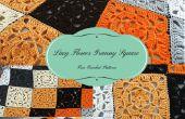 Dentelle Flower Granny Square – Crochet patron gratuit