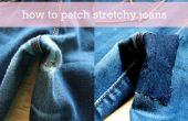 Comment patcher jeans extensibles