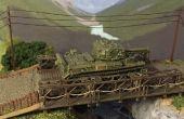 Building a 1:100 Scale Bailey Bridge