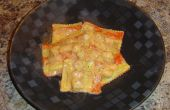 Ravioli avec Sauce crème de homard