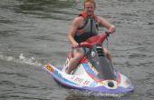 Comment obtenir un Jet Ski sur une remorque et dans l'eau