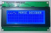 Décodeur Morse Arduino