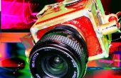 Construire en laiton shiney caméra pour utiliser les lentilles m42 standard sur film de format moyen chic !