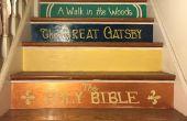 Peint l'escalier du livre