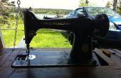 Difficulté et restaurer la Machine à coudre Singer Vintage
