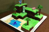 Gâteau du monde Minecraft
