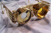 Steampunk Iris de lunettes avec verres interchangeables
