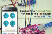 Bâtir vos applications Android pour surveillance IoT périphériques à l'aide des API REST