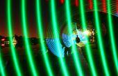 Multi couleur lumière rayonnant épée - LED RGB pour la peinture avec la lumière.