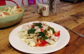 Espadon cru Salade asiatique