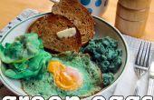 Véritable vert oeufs (et jambon)