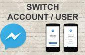 Comment changer de compte sur Facebook Messenger sur Mobile App