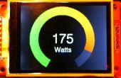 Multimètre analogique « cercle » Arduino sur couleur écran TFT